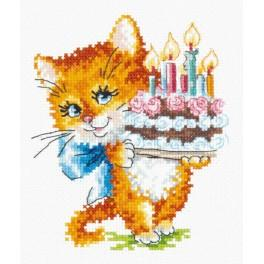 MN 15-18 Cross stitch kit - And happiness in personal life