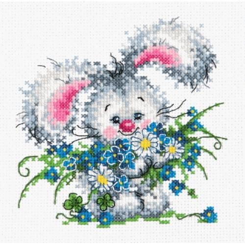 MN 18-61 Cross stitch kit - Happy birthday to you!