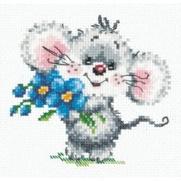 MN 18-67 Cross stitch kit - Elegant bachelor