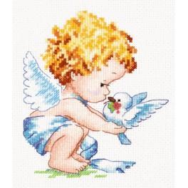 Cross stitch kit - Bright angel