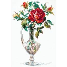 Cross stitch kit - Red rose