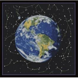 Zestaw z muliną - Planeta Ziemia