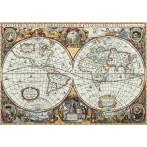 Cross stitch set - Map of the world