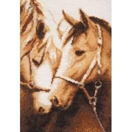 RZ 010 Cross stitch kit - Devotion