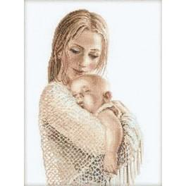 Cross stitch kit - Tenderness