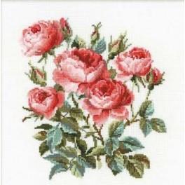 Zestaw z muliną - Różany ogród