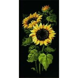 Cross stitch kit - Sunflowers