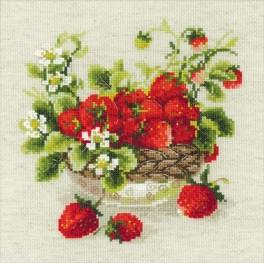 Cross stitch kit - Garden Strawberry