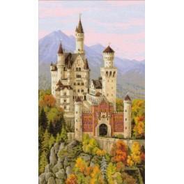 Zestaw z muliną - Zamek Neuschwanstein