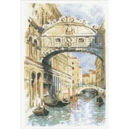 Zestaw z muliną - Wenecja. Most Westchnień