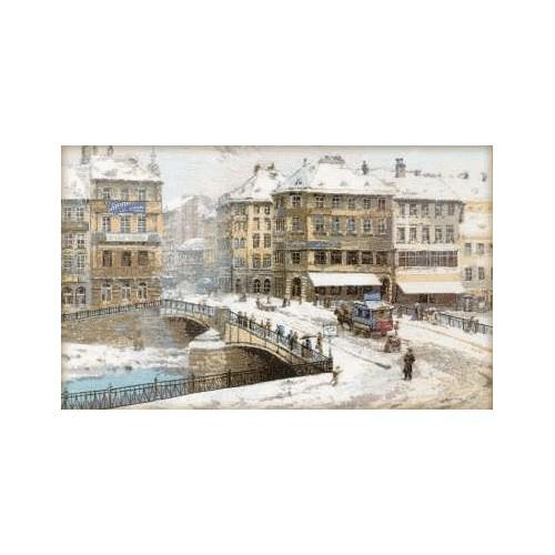 Cross stitch kit - Vienna after L. Zaichik's painting