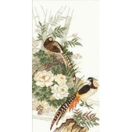 Cross stitch kit - Pheasants