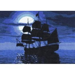 Cross stitch kit - Caravel