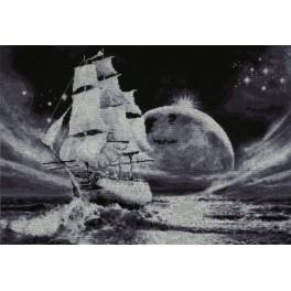 Cross stitch kit - Moon way