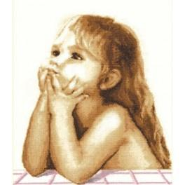 RSV 003 Cross stitch kit - Children's dreams