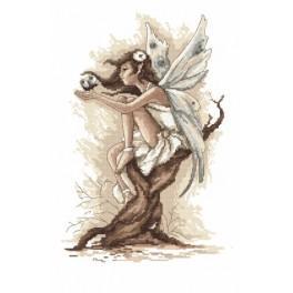 Cross stitch kit - Fairy from fantasy land