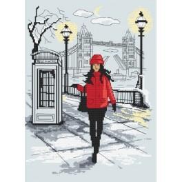Cross stitch kit - London elegance