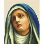 Cross stitch kit - Madonna of sorrow