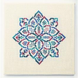Cross stitch kit - Embroidered lace IV