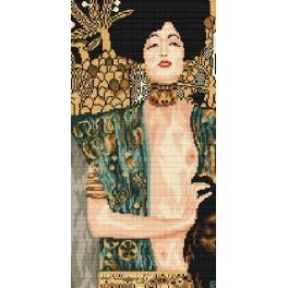 Z 4286 Cross stitch kit - G. Klimt - Judith and the Head of Holofernes