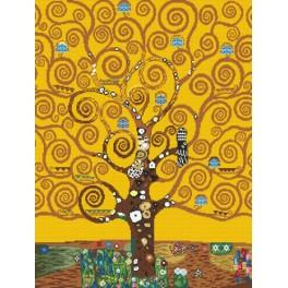 Z 4360 Cross stitch kit - The Tree of Life - G. Klimt