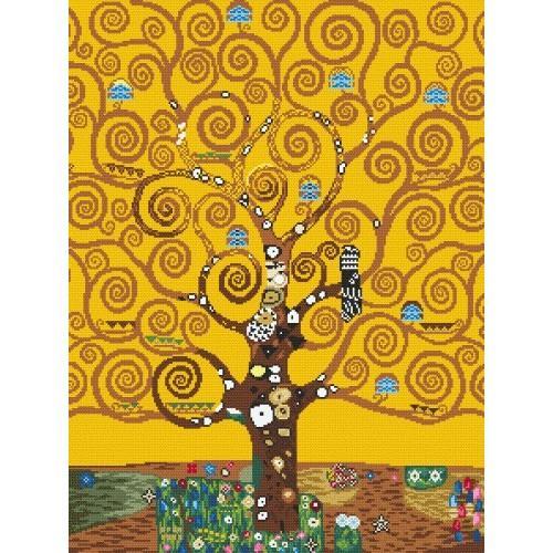 Cross stitch kit - The Tree of Life - G. Klimt