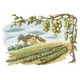 Zestaw z muliną - Winnica
