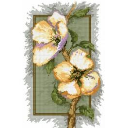 Zestaw z muliną - B. Sikora - Kwiaty wiśni