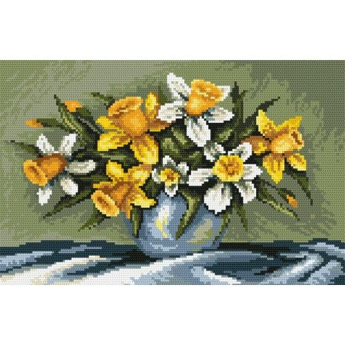 Z 4660 Cross stitch kit - Narcissus and daffodils