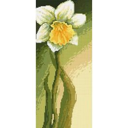 Z 4691 Cross stitch kit - Dignified narcissus