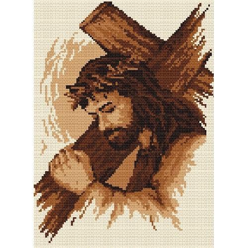 Z 4696 Cross stitch kit - Jesus with the cross