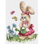 Z 4830 Cross stitch kit - Spring watering