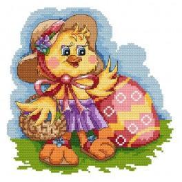 Z 4848 Cross stitch kit - Duck
