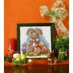 Z 4851 Cross stitch kit - Easter hare