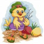 Z 4865 Cross stitch kit - Duck with a sambucus