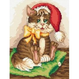 Zestaw z muliną - Słodki kociak