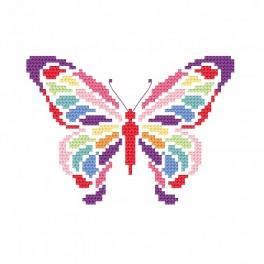 Zestaw z muliną - Motylek