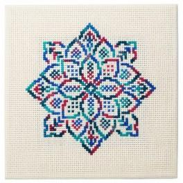 Cross stitch kit - Embroidered lace III