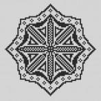 Cross stitch kit - Embroidered lace VI