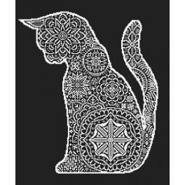 Cross stitch set - Lace cat
