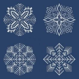Cross stitch kit - Snowflakes