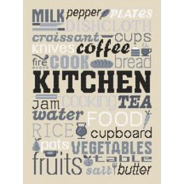 Cross stitch set - Kitchen