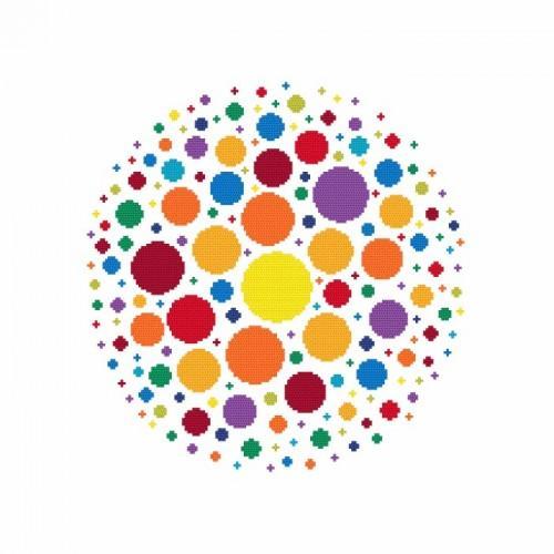 Cross stitch kit - Richness of colour