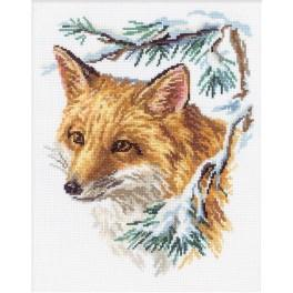 Cross stitch kit - The fox