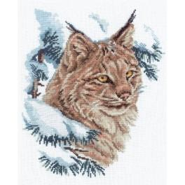 Cross stitch kit - Lunx