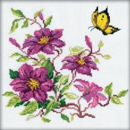 Cross stitch kit - Flowers