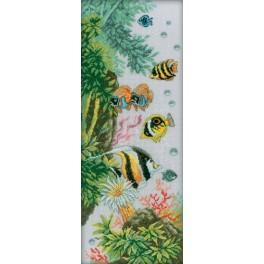 Cross stitch kit - Reef