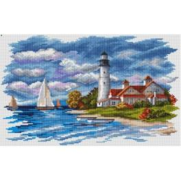 Cross stitch kit - Seaside Beauty