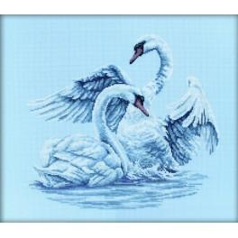 Cross stitch kit - Swan fidelity