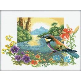 Cross stitch kit - Landscape